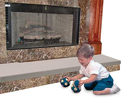 Childproofing-Fireplace Safety