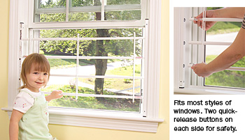 Automatic Specialties 1723 44w Guardian Angel Window Guard