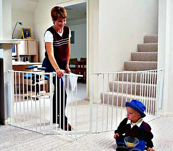 How to build simple and easy indoor child fence? (cartoons ...