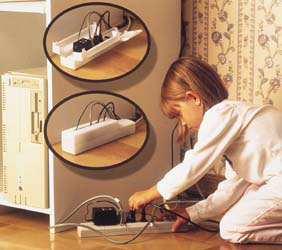 Mommys Helper 40896 Power Strip Safety Cover, Childproofing ...