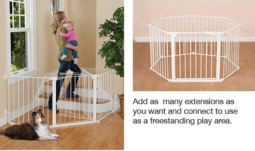 expandable gate