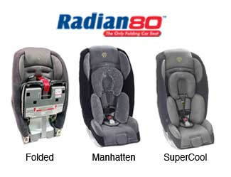 Radian 80 Folding Car Seat
