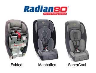 Radian 80 Folding Car Seat