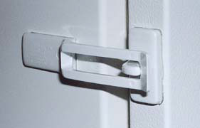 Safety Appliance Latch,  2 pk.