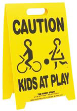 Driveway Safety Sign! Buy 2 and save!