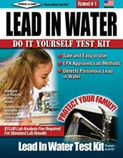 Lead in Water Test Kit