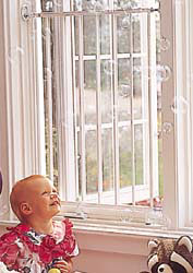 "Kidco Safeway Window Guard - 24 3 4"" to 43 1 2"" Extensions available"