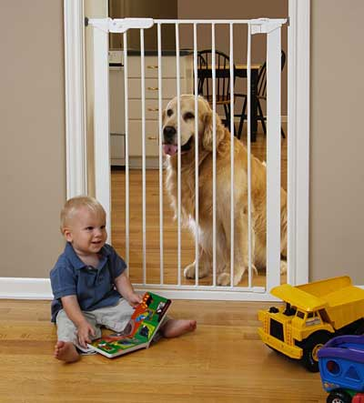 "Kidco Extra Tall Center Gateway Child Safety Gate - 42"" H, 29 1 2""-37 1 2"" W"
