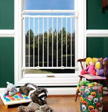 Deluxe Metal Kidco Safeway Window Barrier