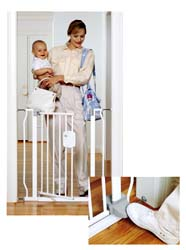 "The First Years Hands-Free Baby Gate - 29"" to 34-Extensions Available"